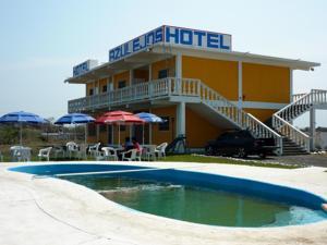 Hotel azulejos en chachalacas mexico mejores precios for Hotel azulejos