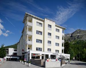 Hotel Laudinella St Moritz Switzerland