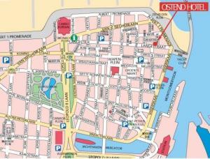 Ostende Karte