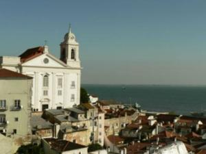 Traveling To Lisbon Alfama