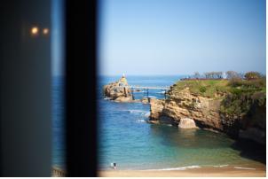 Hotel de la plage in biarritz france best rates - Hotel de la plage biarritz 3 esplanade du port vieux ...