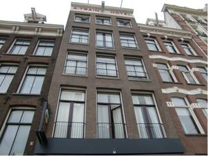 A train hotel in amsterdam netherlands best rates for Train hotel amsterdam