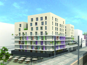 Appart 39 hotel odalys lyon confluence in lyon france best for Appart hotel odalys lyon