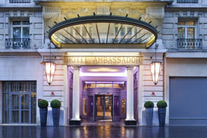 Hotel Marriott Paris Opera Ambassador