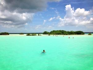 Casa tortuga backpacker en bacalar mexico mejores for Hotel luxury en bacalar