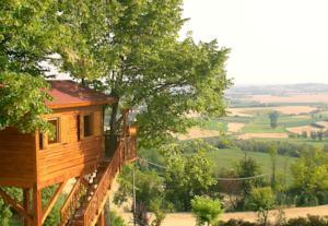 Casa sull\'Albero Aromantica a San Salvatore Monferrato, Italy ...