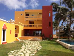 Flamingos Inn in Chelem, Mexico - Lets Book Hotel