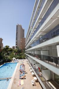 Hotel perla in benidorm spain best rates guaranteed for Hotel perla benidorm