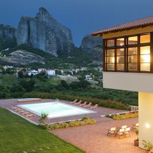 Meteora Hotel At Kastraki In Kalabaka Greece Lets Book Hotel