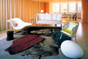 Sanderson Hotel Room Service Menu