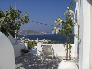 Overlooking Mykonos Home