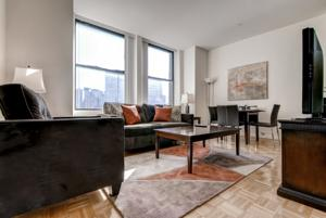 Classic luxury apartments steps away from City Hall Park