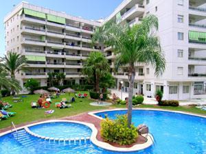 Aparthotel ona jardines paraisol en salou spain mejores for Aparthotel los jardines