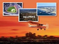 Los Angeles Sunset Flight
